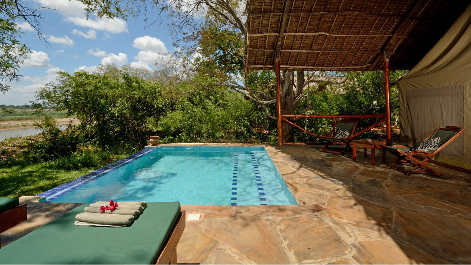 Selous Riverside Camp | Safaris | Tanzania Odyssey